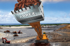 The using example of the ABREX® series  ABREX®鋼材的使用範例
